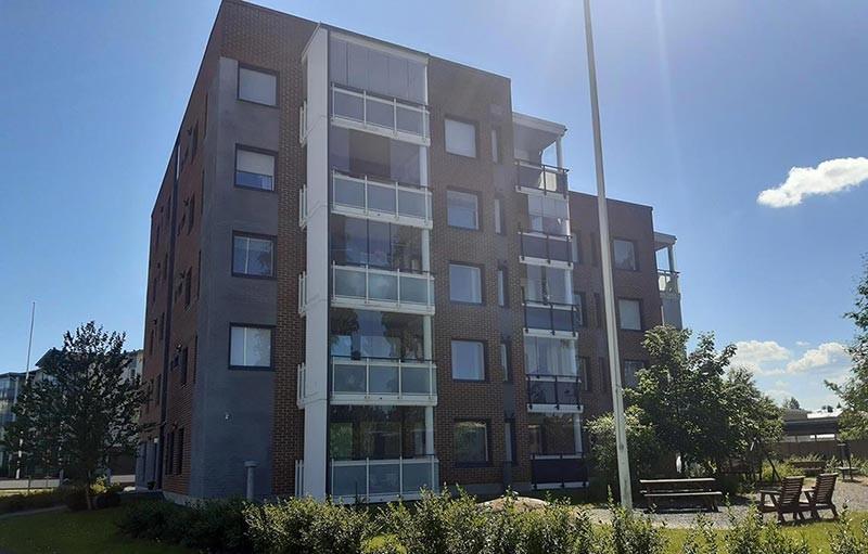 Aspa-koti Misteli sijaitsee kerrostalossa Seinäjoella.