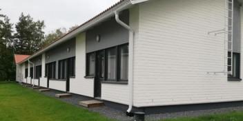 UlvilassaAspa-koti Nahkuri sijaitsee rivitalossa Ulvilassa.