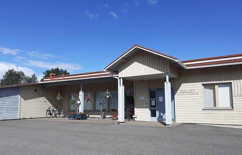 Aspa-koti Riekonmarja sijaitsee rivitalossa Enontekiön keskustassa.