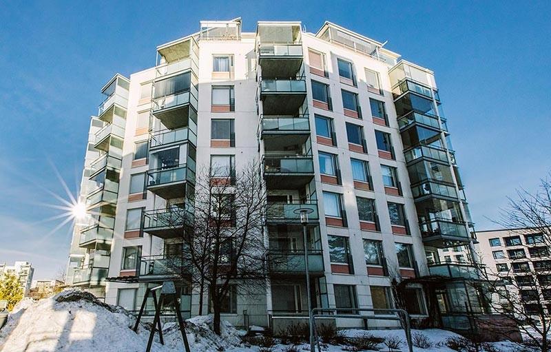 Aspa-koti Simpukka toimii kerrostalossa Helsingissä.