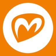 Mielekäs-logon M-kirjain.